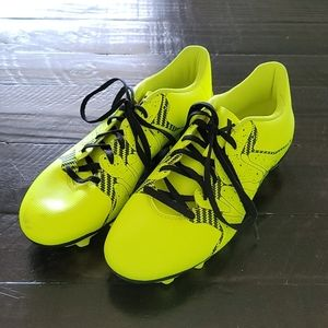 ADIDAS 15.4 X Soccer Cleats Size 7.5 Yellow Black